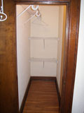 Ample closet space in each apartment